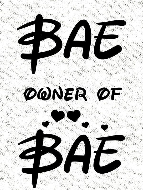 Komplet za pare: Bae & Owner of Bae