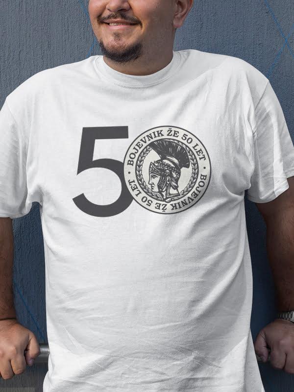 Majica Bojevnik že 50 let