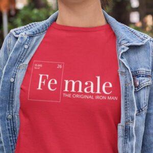 Female - the original iron man