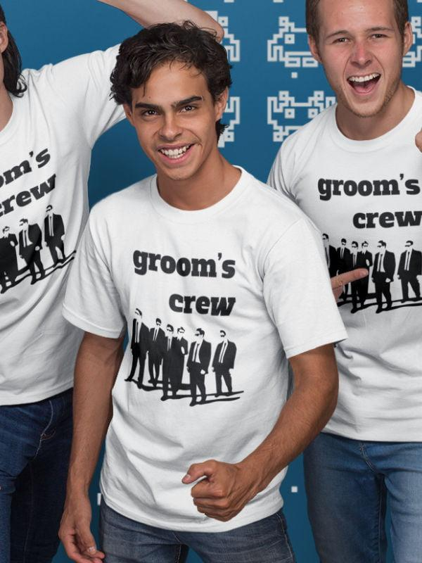 Grooms crew, majice