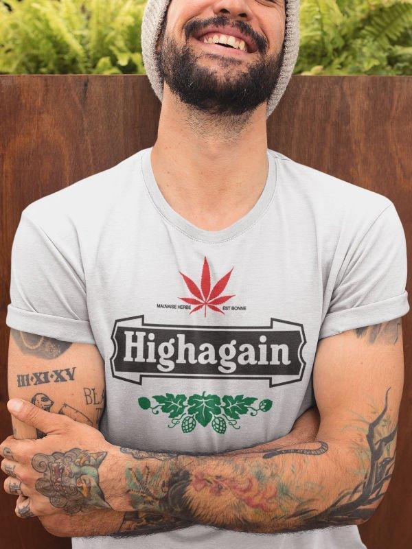 Highagain, majica