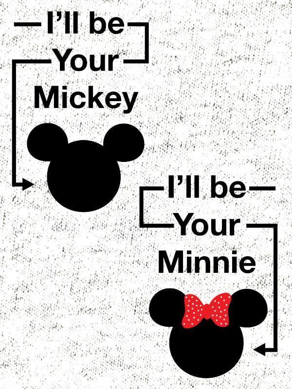 Komplet za pare: Mickey & Minnie