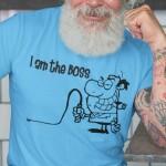 I am the boss, majica