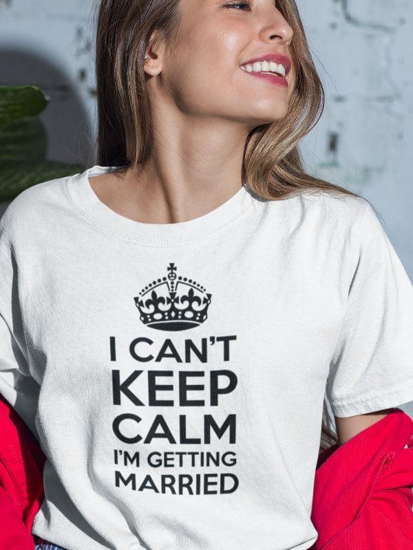 Majica i can't keep calm - i'm getting married