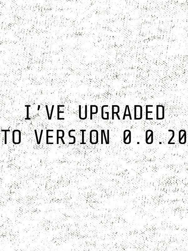 I've upgraded to version 0.0.18