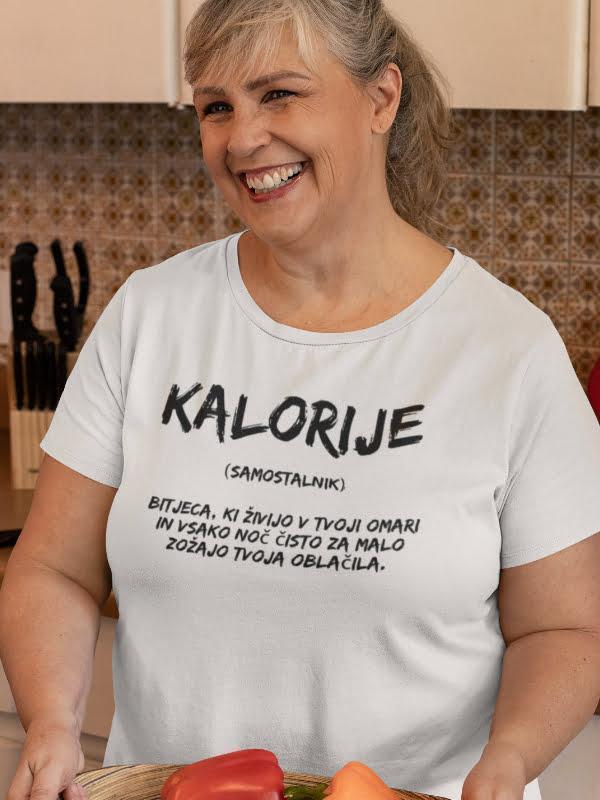 Kalorije, smešna majica
