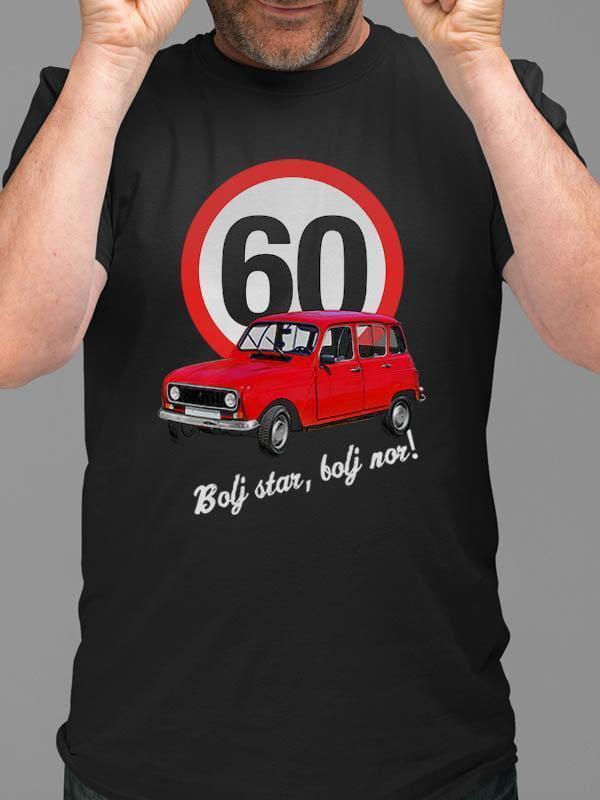 Majica Bolj star, bolj nor! 60 - katrca