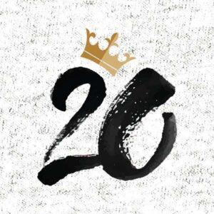 Kraljeva številka za rojstni dan 20 let majica