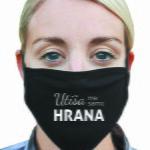 Obrazna maska utisa me samo hrana crna podaljšek za masko 1