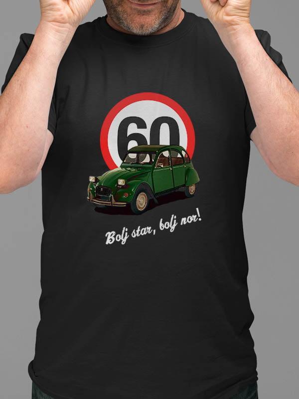Majica Bolj star, bolj nor! 60 - spaček