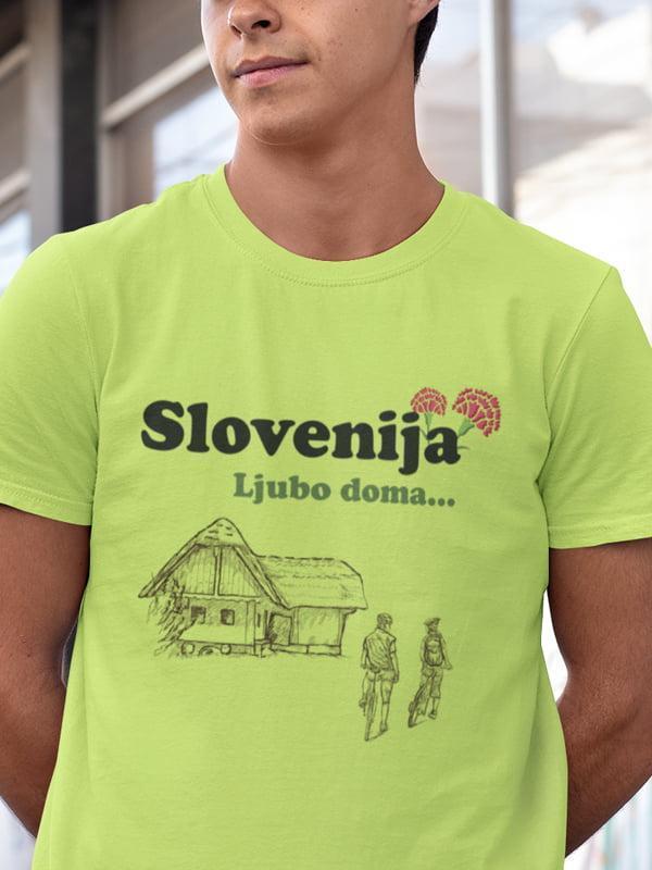 Slovenija ljubo doma, majica