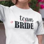 Team bride srčki, majica za dekliščino