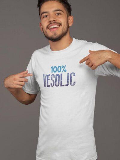 100% vesoljc majica