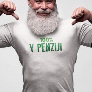 100 v penziji, majica