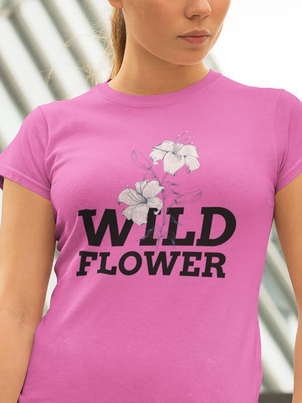 Wild flower, majica za rožice