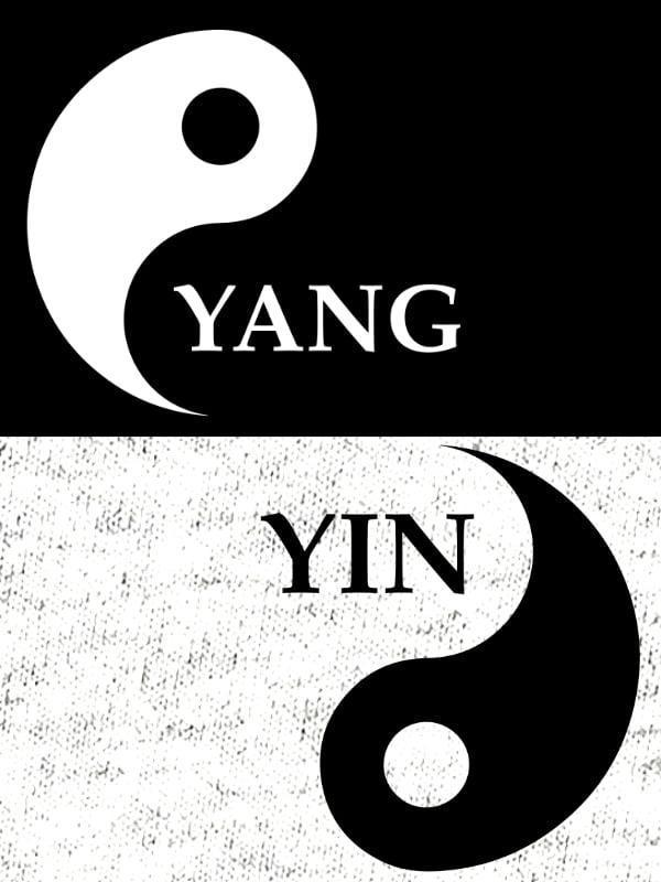 Komplet za pare: Yin & Yang