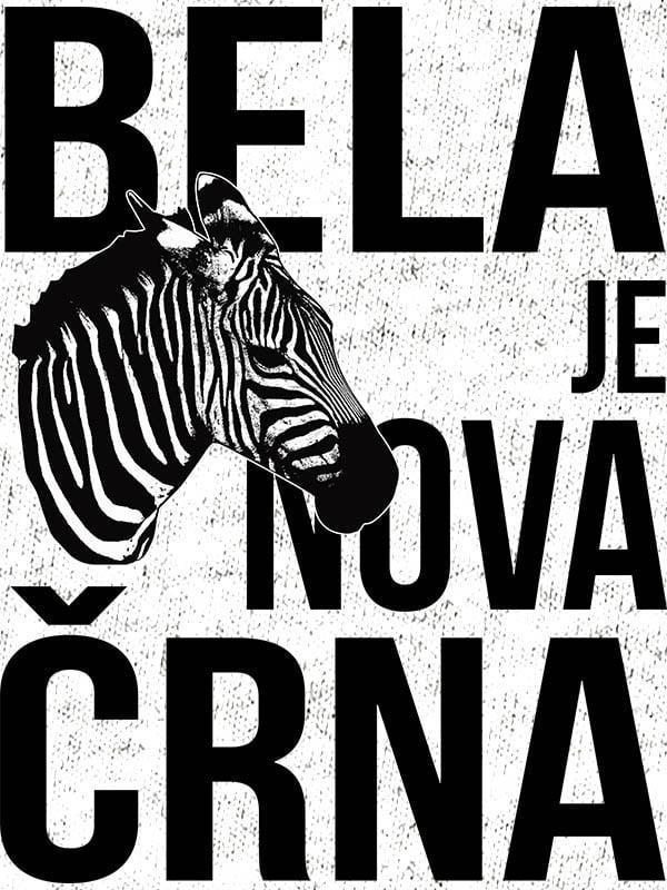 Bela je nova črna - zebra