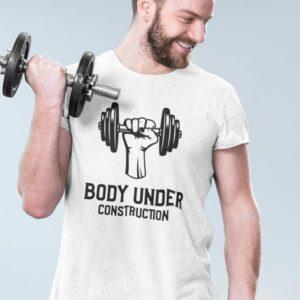 Body under construction majica