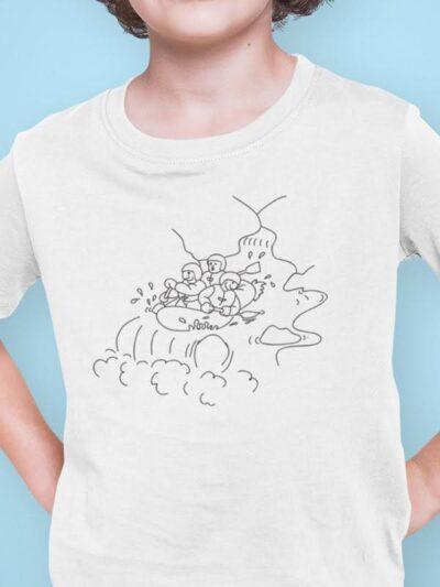 Bovec pobarvanka na majici slovenija