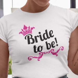 Bride to be preview # bela majica za vso družino - pobarvanka (kopija) 5