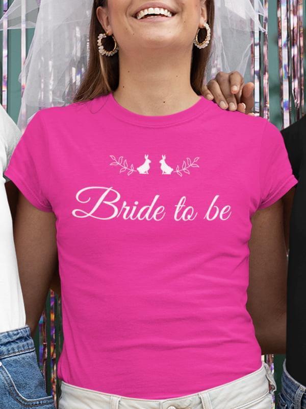 Bride to be 2 zajčka, majica