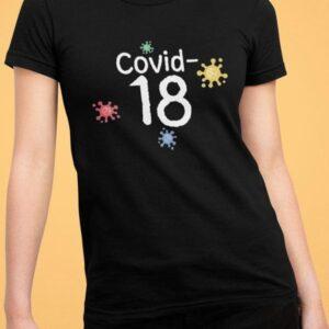 Covid 18 mockup črna 18 let 18 let 2