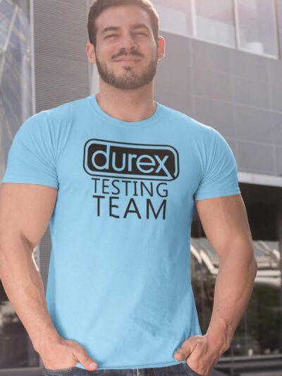 Durex testing team, majica