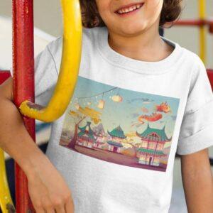 Majica kitajska - ilustracija (otroška)