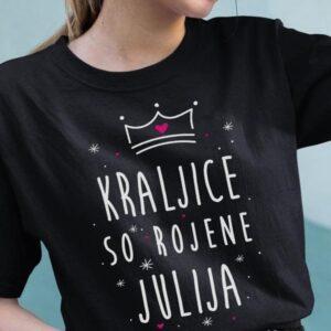 Majica kraljice so rojene julija