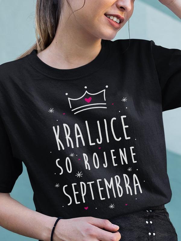 Majica Kraljice so rojene septembra