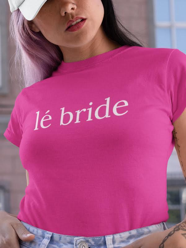 Le bride, majica za dekliščino