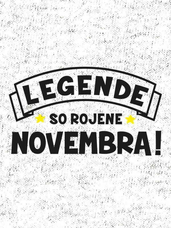 Legende so rojene novembra!