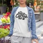 Life begins after coffee 2 majica