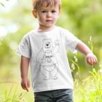 Majica_medvedek_zivjo_pobarvanka