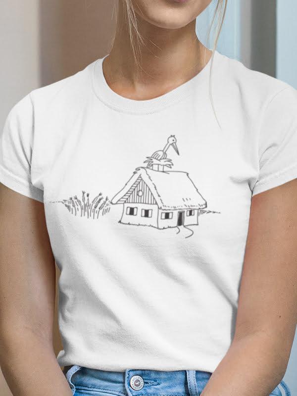 Murska Sobota pobarvanka na majici Slovenija, majica iz prekmurja