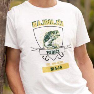 Najboljši ribiči maj mockup komplet majic za par beauty beast 7