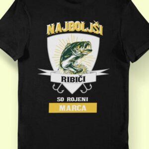 Najboljši ribiči marec mockup komplet majic za par beauty beast 4