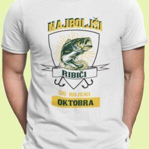 Najboljši ribiči oktober mockup komplet majic his king 4