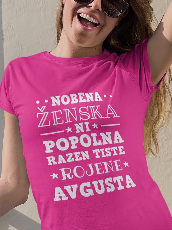 Nobena ženska ni popolna razen tiste rojene avgusta
