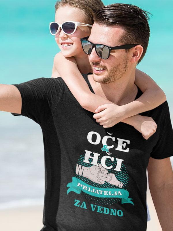 majica Oče in hči - prijatelja za vedno