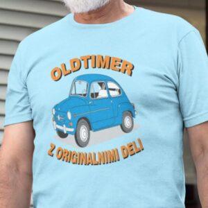 Oldtimer z originalnimi deli, majica za prijatelja