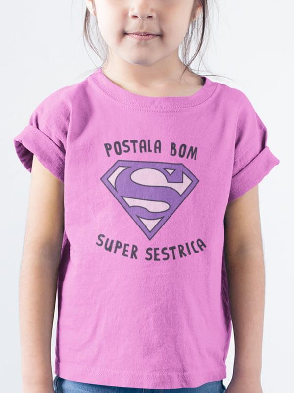 Postala bom super sestrica, majica