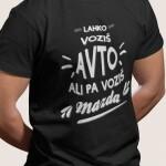 Potiskana majica avto mazda zabavna avtomobilizem duhovito tisk na majice garderoba tiskarna trgovina kolosej prodaja btc ljubljana 2