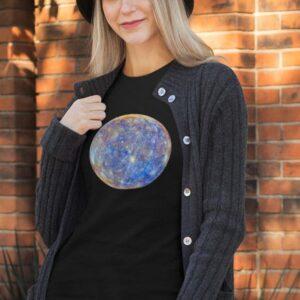 Potiskana majica planet merkur mercury vesolje space universe kozmos tisk na majice darilo unikat tiskarna garderoba trgovina ljubljana slovenija dostava prodaja spletno nakupovanje vesolje vesolje 1