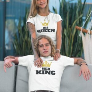 Komplet za pare her king in his queen
