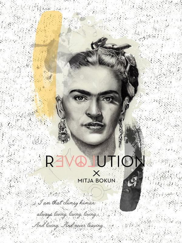 Revolution - Frida Kahlo - I am that clumsy human ...