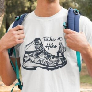 Take a hike, zabavna majica