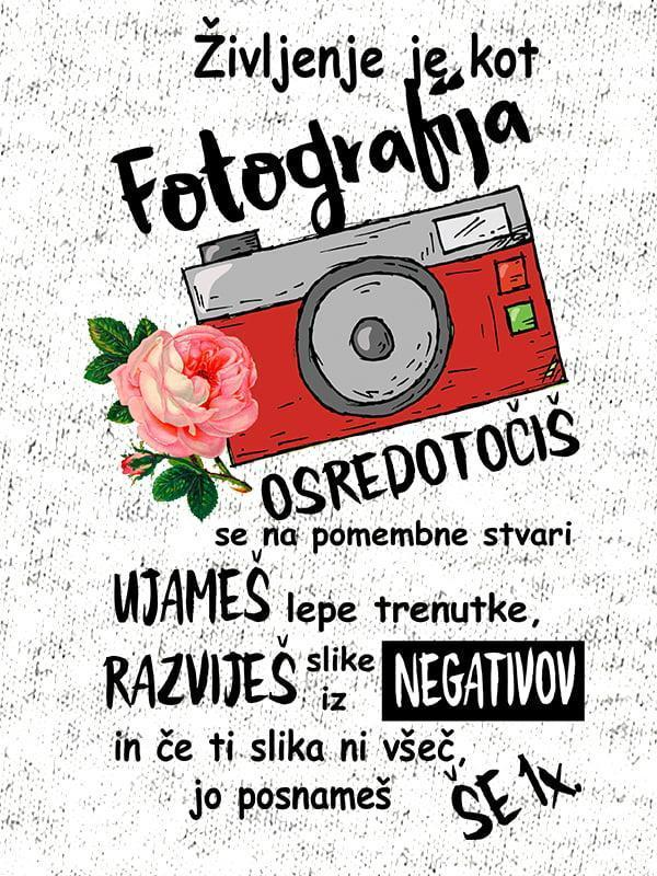 Življenje je kot fotografija