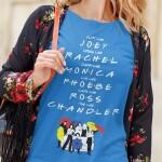 Potiskana majica friends bodi in delaj kot tv nanizanka prijatelji humor komedija priljubljeno smešno življenje darilo tiskarna garderoba tisk na majice po želji spletni nakup dostava pošta osebni prevzem obstojno kvalitetne majice trgovina ljubljana