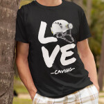 Love caving, potiskana majica